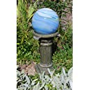 Echo Valley 9181 Florentine Resin Pedestal Column for Gazing Globe or Sundial