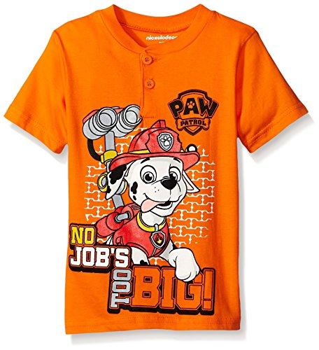 Paw Patrol Boys' Short Sleeve Character T-Shirt
