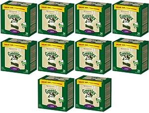 Greenies Dental Chews Value Size Large 240ct 360oz(10 x 36oz Tubs)