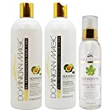 Dominican Magic Nourishing Shampoo & Conditioner & Thermal Protector Hair Spray 6oz