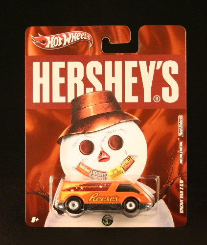 DREAM VAN XGW * REESE'S * Hershey's Hot Wheels 2011 Nostalgia Series 1:64 Scale Die-Cast Vehicle
