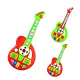 I Grove Guitar Play Toys 43x19cm Baby Kids Musical Guitar Baby Music Toy Electrical Keyboard Learning Education...