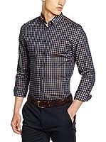 Seidensticker Camisa Vestir Super Slim (Verde / Azul)
