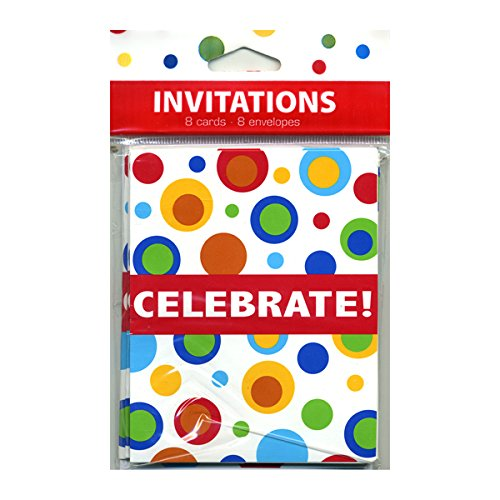 Celebration Bubbles Invitations