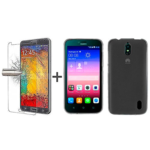 tbocr-pack-black-tpu-silicone-gel-case-tempered-glass-screen-protector-for-huawei-ascend-y625-soft-j