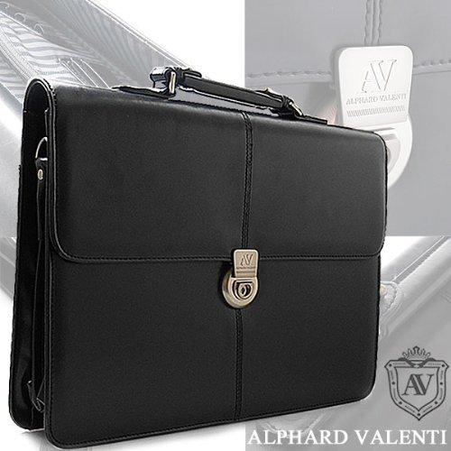 ALPHARD VALENTI アルファードバレンチ ビジネスバッグ フェイクレザー ショルダーバッグ ブラウン1501139