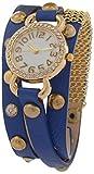 Handcuffs Analogue Blue Women's Watch - (Long Strap BL1)