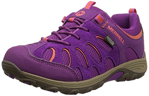 Merrell Chameleon Low Lace Waterproof Hiking Shoe , Fuchsia/