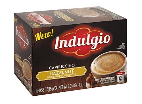 Indulgio 72 Count K-Cups (Hazelnut Cappuccino)