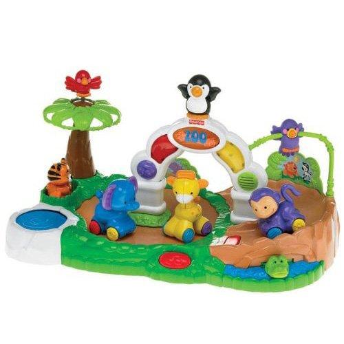 Fisher-Price Amazing Animals Spinnin' Around Musical Zoo - 1