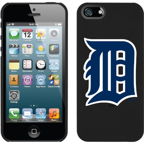 Best Price Detroit Tigers - D design on a Black iPhone 5s / 5 Thinshield Snap-On Case by Coveroo
