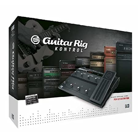 Native Instruments Guitar Rig 4 KONTROL Edition - Software/Hardware Combo