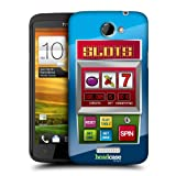 Head Case Designs Slots Machine Cases Protective Snap on Hard Back Case Cover for HTC One X