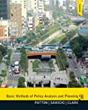 img - for Basic Methods of Policy Analysis and Planning (3rd Edition) book / textbook / text book