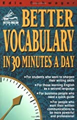 Better Vocabulary in 30 Minutes a Day (Better English Series) [Paperback]