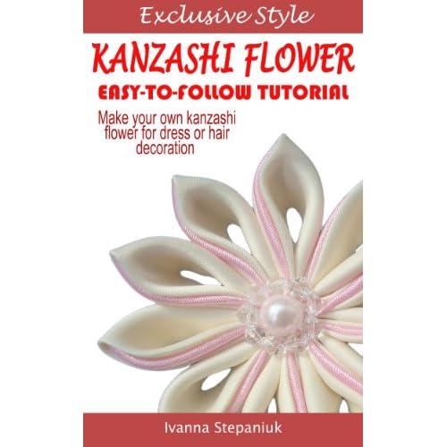 Image: Kanzashi Tutorial - How to Make a Kanzashi Fabric