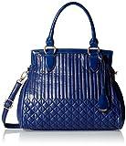 Gussaci Italy Women's Handbag (Blue) (GC229)