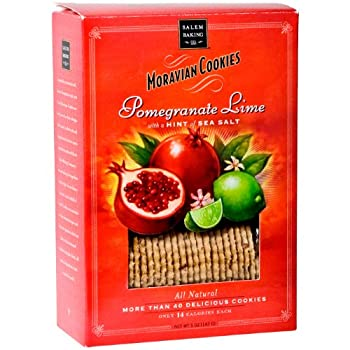 Pomegranate Lime Sea Salt Cookies