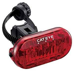 Cateye Omni 3 Bicycle Rear Safety Light Tl-ld135-r