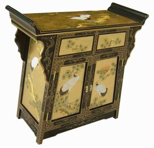 Cheap Oriental Antique Style Golden Altar / Console Table (YW3375B)