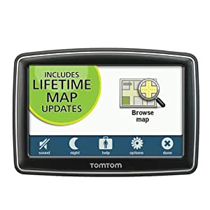 TomTom XXL 550M 5-Inch Widescreen Portable GPS Navigator (Lifetime Maps Edition)