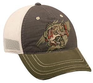 Zombie bass fishing cap fishing hats for Bass fishing hats