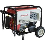 Honeywell 6039 7,500 Watt 420cc OHV Portable Gas Powered Generator with Electric Start