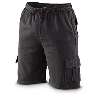 Browning Fleece Cargo Shorts, BLACK, SM