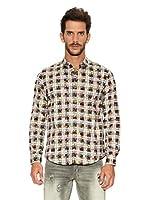 Desigual Camisa Manolin (Gris / Multicolor)