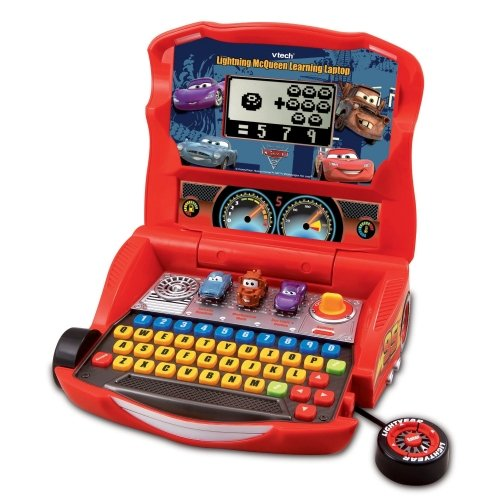 Disney Pixar Cars 2 Lightning McQueen Learning Laptop