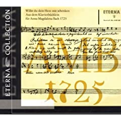 Aus dem Klavierb�chlein f�r Anna Magdalena Bach 1725: No. 22, Musette in D Major, BWV Anh. 126