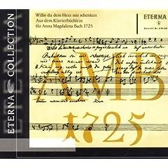 Aus dem Klavierb�chlein f�r Anna Magdalena Bach 1725: No. 26, Aria for Piano in G Major, BWV 988,1