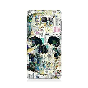 Mobicture Skull Abstract Premium Printed Case For Samsung On 5