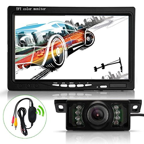 oksaler-7-inch-tft-lcd-screen-car-rear-view-backup-mirror-monitor-wireless-parking-night-vision-reve