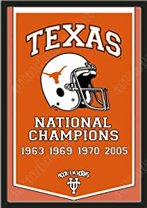Dynasty Banner Of Texas Longhorns-Framed Awesome & Beautiful-Must For A... by Art and More, Davenport, IA
