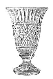 Godinger Dublin 7 3/4 Inch Crystal Vase
