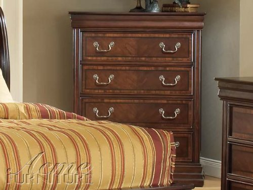 Acme 19456 Hennessy Chest In Brown Cherry front-936461