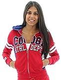 COOGI Womens Fleece Athletic Department Hoody