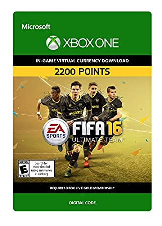 FIFA 16 2,200 FIFA Points - Xbox One [Digital Code]