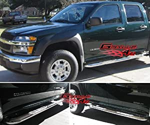 04-11 2011 Colorado/Canyon Crew Cab S/S Side Step Nerf Bars