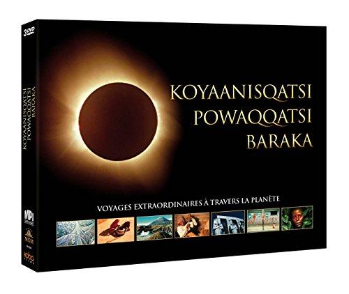 Coffret Trilogie écologique (Baraka + Koyaanisqatsi + Powaqqatsi) [Edizione: Francia]