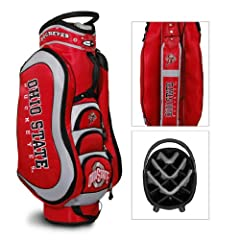 Brand New Ohio State University Buckeyes Medalist Cart Bag by Things for You