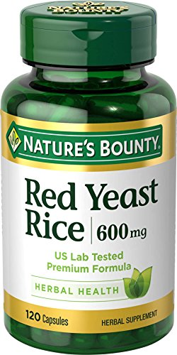 Nature's Bounty Red Yeast Rice 600 mg, 120 Capsules (Red Yeast Rice compare prices)