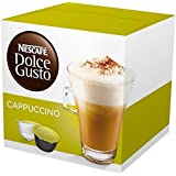 Nescafe Dolce Gusto for Nescafe Dolce Gusto Brewers, Cappuccino, 16 Count (Count of 3)