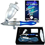 Master Airbrush Airbursh Sandblaster Air Eraser Glass Etcher with a (FREE) How to Airbrush Training Book to Get You Started, Published Exclusively By Master Airbrush