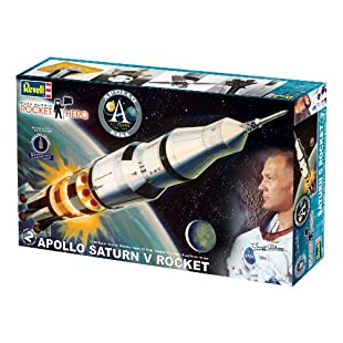 Revell 1:144 Rocket Hero Apollo Saturn V Rocket
