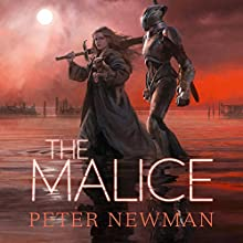 The Malice Audiobook by Peter Newman Narrated by Jot Davies