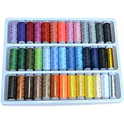 FAMILY Sewing Thread 39 Colors Assorted Thread 200 Yards Cotton