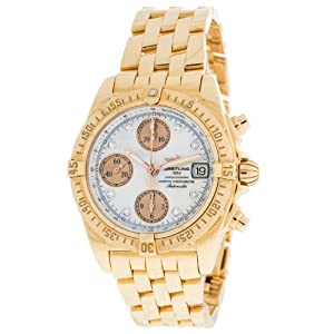 Breitling Cockpit H1335812/A654 18K Rose Gold Diamonds Automatic Men's Watch