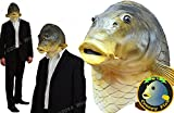 ZooBoo Creepy Fish full head Mask Halloween Costume